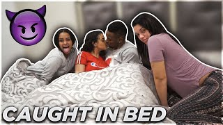"CAUGHT CHEATING IN BED PRANK WITH CARMEN & BIANNCA FROM ""THE PRINCE FAMILY"""