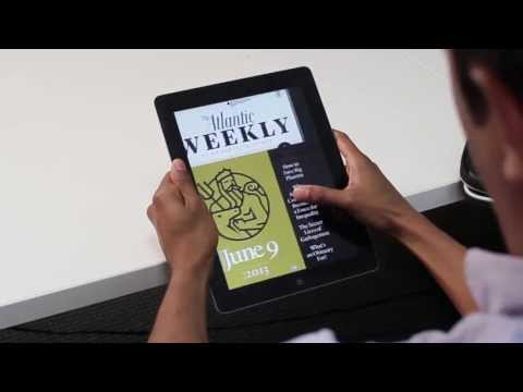 The Atlantic Weekly Now Published for the iPad
