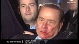 Attacke auf Berlusconi