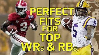 Top RB & WR Prospects Perfect Landing Spots | Path to the Draft | NFL Network