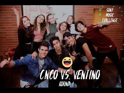 #SonyMusicChallenge CNCO VS. VENTINO - ROUND 1