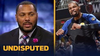 Eddie House on Barkley's comments on Kevin Durant pretending to be tough | NBA | UNDISPUTED