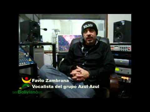Entrevista a Fabio Zambrana Vocalista del Grupo Azul Azul