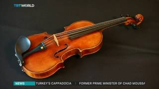 Recovered 236-year-old violin plays music once again