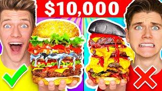 $10,000 COOK-OFF #2: Must See Genius Food Hacks - Best Gallium VS Target Hack Wins Challenge