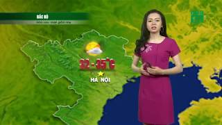 VTC14   Thời tiết 12h 21/05/2018   Nhiệt độ cao nhất ở miền Bắc là 35 độ C