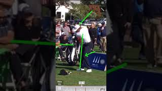 Tiger Woods Latest golf swing (frontView) 10/9/17