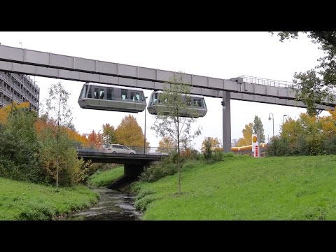 Düsseldorf International Airport H-Bahn SkyTrain Monorail