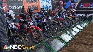 Supercross Round #4 in Glendale | 250SX EXTENDED HIGHLIGHTS | Motorsports on NBC