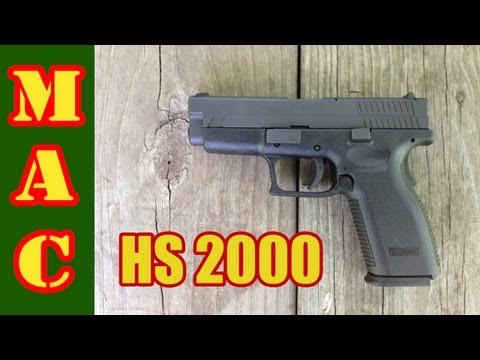 HS2000 - Croatian 9mm Pistol