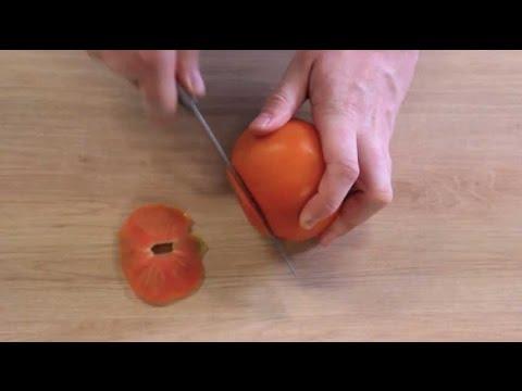 Comment éplucher une tomate ?