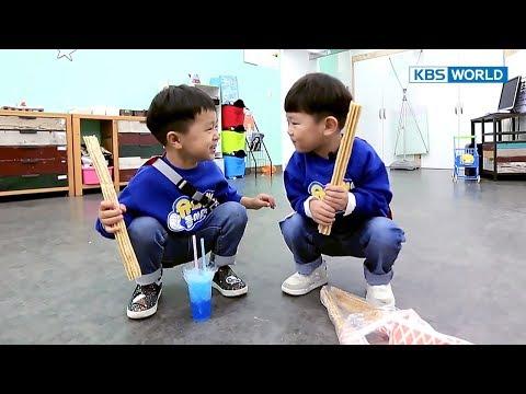 Sian & Seungjae's friendship grows as they eat churros in hiding [The Return of Superman/2017.11.19]