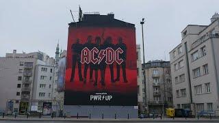 Mural AC/DC w Warszawie | #PWRUP
