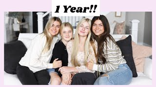 OUR 1 YEAR ANNIVERSARY ON YOUTUBE!! *BLOOPER/HIGHLIGHT REEL*