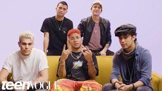 CNCO Plays I Dare You   Teen Vogue