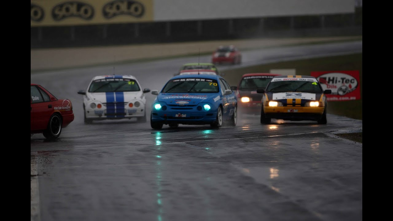 Saloon Cars - Phillip Island Sept 2012 - Race 1 Highlights