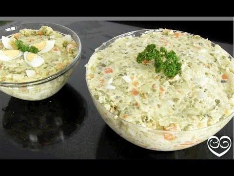Recept: Russische salade