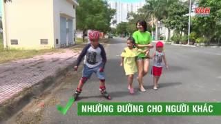 An toàn khi trượt patin, trượt ván - An toàn cho trẻ - Số 11 | Manulife Vietnam