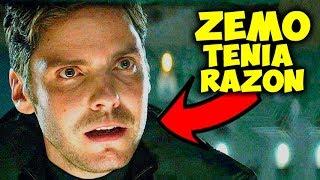 Zemo Tenia Razón Y Ayudo a Thanos Destruyendo los Vengadores!!