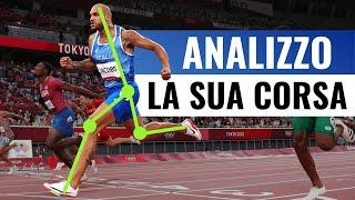 Finale 100 metri alle OLIMPIADI: l'ANALISI della corsa dello straordinario MARCELL JACOBS