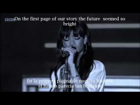 Rihanna- Love the way you lie part 2 (Lyrics inglés español)