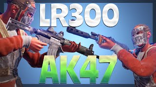 LR300 vs. AK47 (RUST)