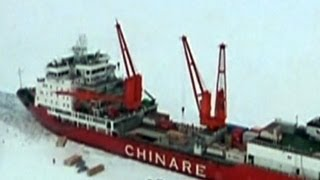 Passengers rescued from Antarctica ship delayed again by ice