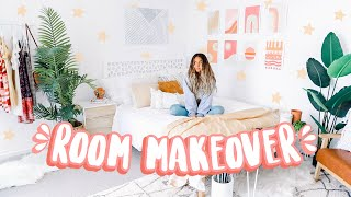 EXTREME BEDROOM MAKEOVER (+ cleanout and tour!)