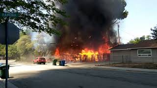 House Fire - Paso Robles, Ca.