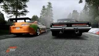 Forza 4 Fast and Furious Ending Race