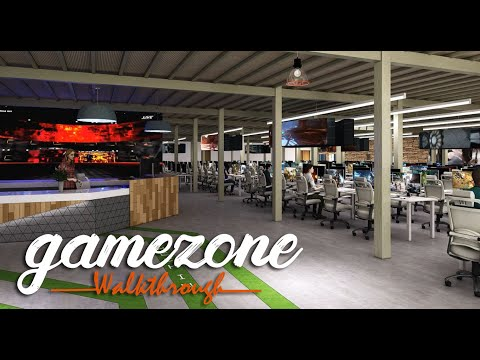 Entertainment Center - Gamezone Spot Visualization by Yantram Architectural Design Studio