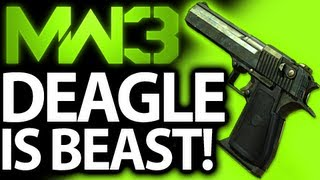 Best Handgun? Desert Eagle LIVE! #MW3 Subscriber Challenge Modern Warfare 3 Sidearm Gameplay
