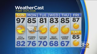 New York Weather: CBS2 7/20 Nightly Forecast at 11PM