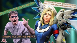 I ONLY PLAY MERCY [Overwatch]