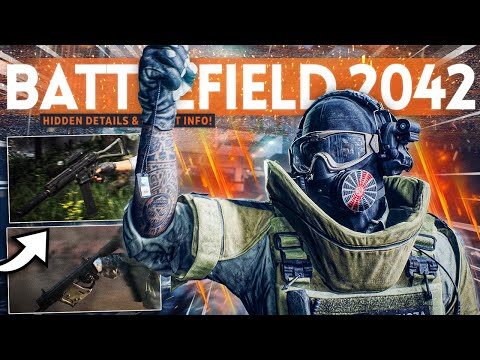 Battlefield 2042 HIDDEN Details and SECRET INFO! (Weapons, Backstory & Easter Eggs)