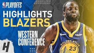 Draymond Green Full Series Highlights vs Trail Blazers | 2019 NBA Playoffs WCF
