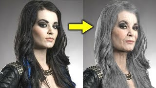 10 WWE Diva OLD AGE Transformations