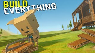 IS THIS THE MOST UNIQUE SURVIVAL GAME EVER MADE?! The NEW Minecraft? - Cardlife Pre-Alpha Gameplay
