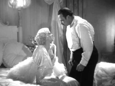 Dinner at Eight (1933) - Jean Harlow & Wallace Beery