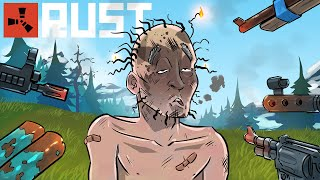 Rust - The REALITY of SOLO GAMEPLAY