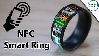 Making an NFC Enabled Smart Ring with Tritium and Forged Carbon Fiber