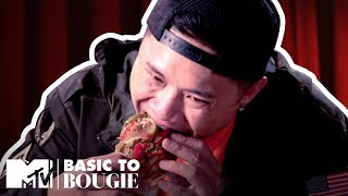 Hot Dogs & Caviar w/ Timothy DeLaGhetto + Darren Brand | Basic to Bougie | MTV Cribs