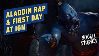 Aladdin: Fresh Prince of Agrabah & First Day at IGN LA - Social Studies #3