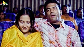 Aziz Naser With His Girl Friend In Theatre   Hyderabad Nawabs Movie Scenes   Sri Balaji Video