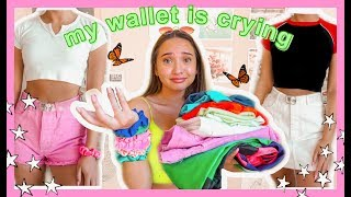BIG A$$ SUMMER/SPRING TRY ON CLOTHING HAUL 2019| brandy melville, urban outfitters etc
