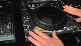 DECKSAVER DS-PC-CDJ2000NXS in action