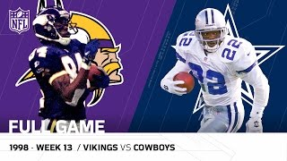 Randy Moss & Vikings Torch the Cowboys | Thanksgiving 1998 | NFL Full Game