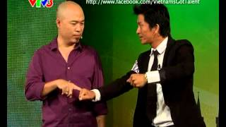 Vietnam's Got Talent 2012 - Vòng Loại Sân Khấu - Tập 5 Nguyễn Mạnh Phương Ảo Thuật