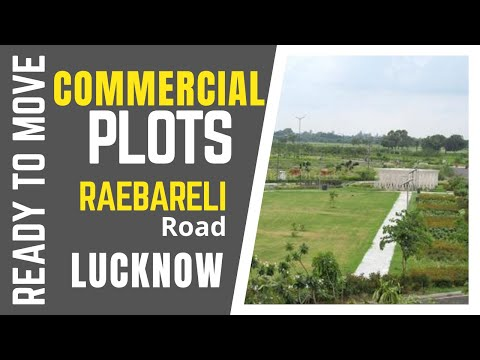 commercial plots in lucknow for sale