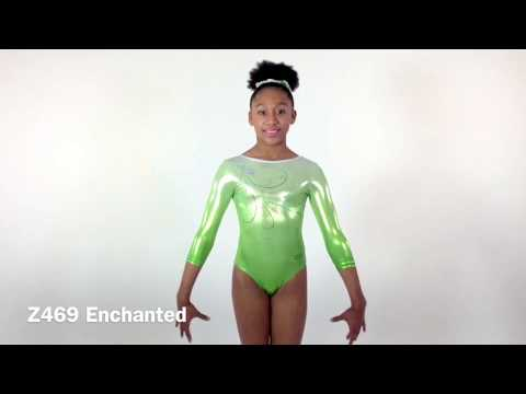Justaucorps manches 3/4 ENCHANTED
